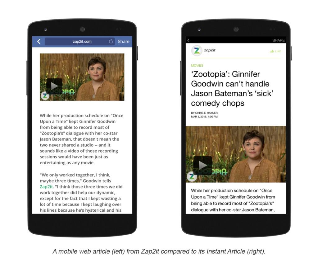 Facebook lance un plugin WordPress pour publier des Instant Articles