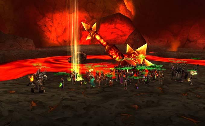 À l'époque, un raid comptait 40 joueurs
