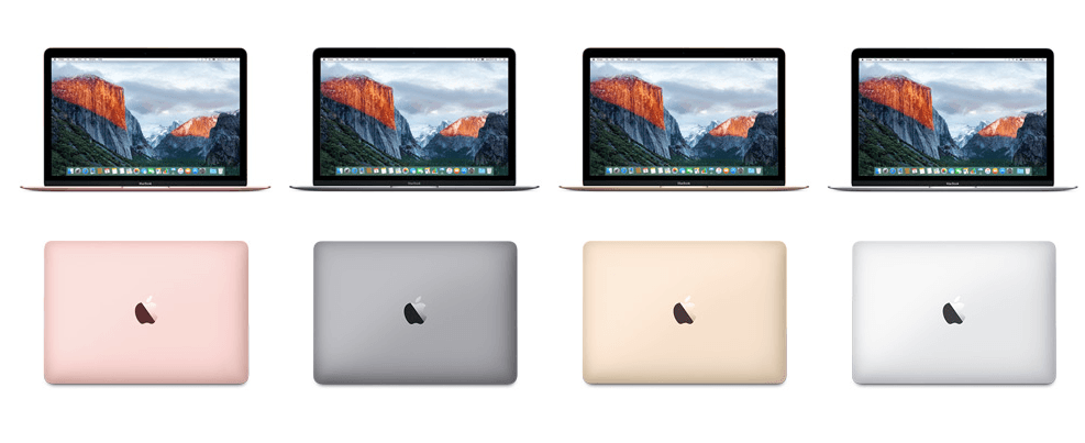 apple renouvelle ses macbook or rose et boost des caract ristiques tech numerama. Black Bedroom Furniture Sets. Home Design Ideas