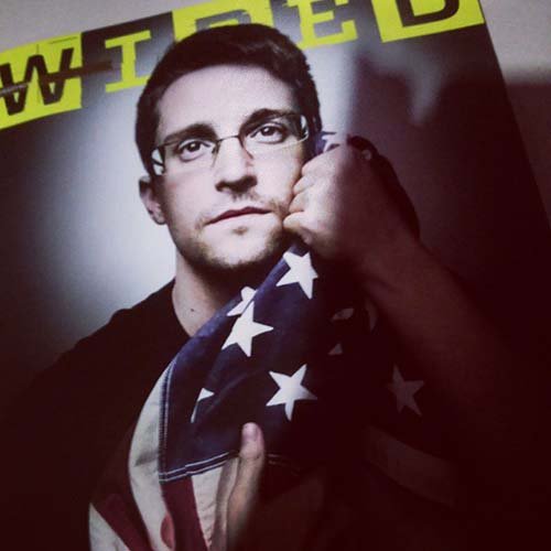 Ed Snowden Wired