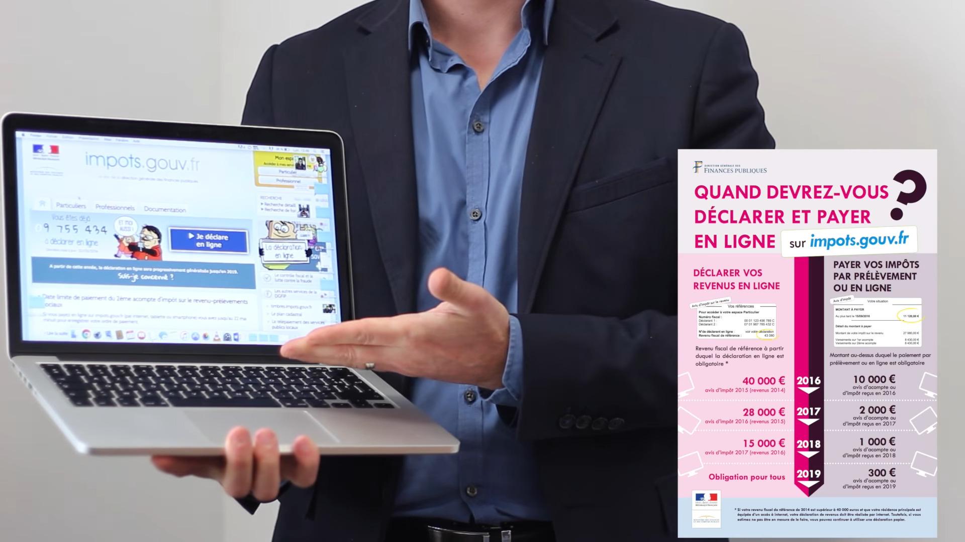 Impots La Declaration Des Revenus Par Internet Devient Obligatoire