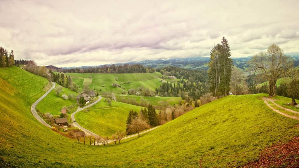 Nature village plaine