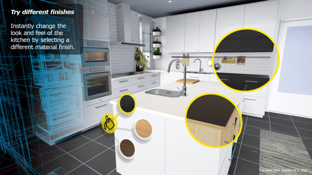 ikea vous propose de configurer des cuisines en r alit virtuelle tech numerama. Black Bedroom Furniture Sets. Home Design Ideas