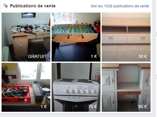 facebook les groupes de vente auront ils la peau du bon coin business numerama. Black Bedroom Furniture Sets. Home Design Ideas