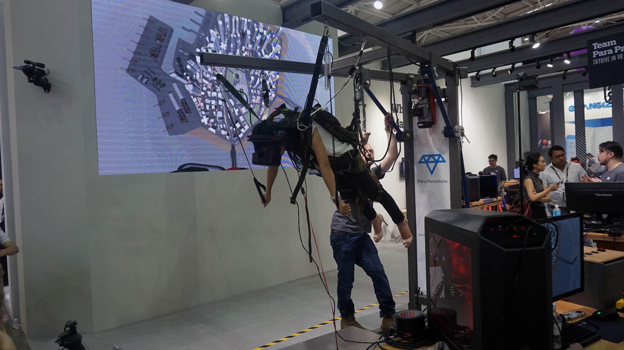 saut en parachute vr