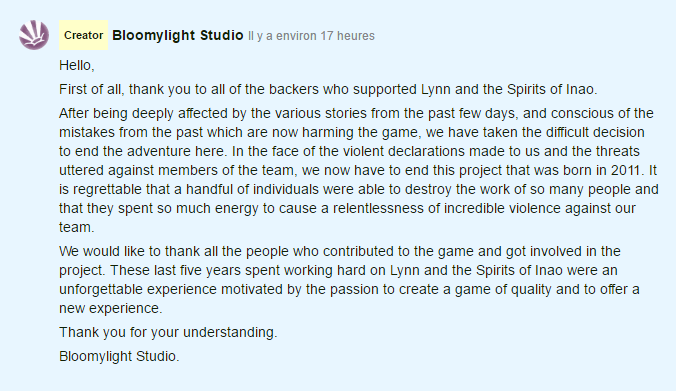 Lynn and the Spirits of Inao Canceled by Bloomylight Studio — Kickstarter