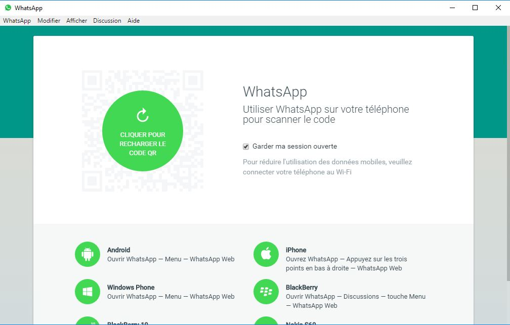 Comment utiliser whatsapp sur pc et mac tech numerama for Application miroir ordinateur