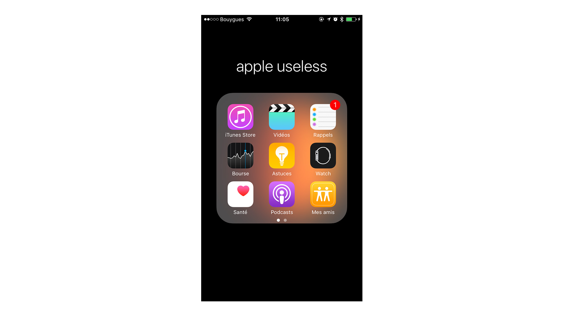 appleuseless