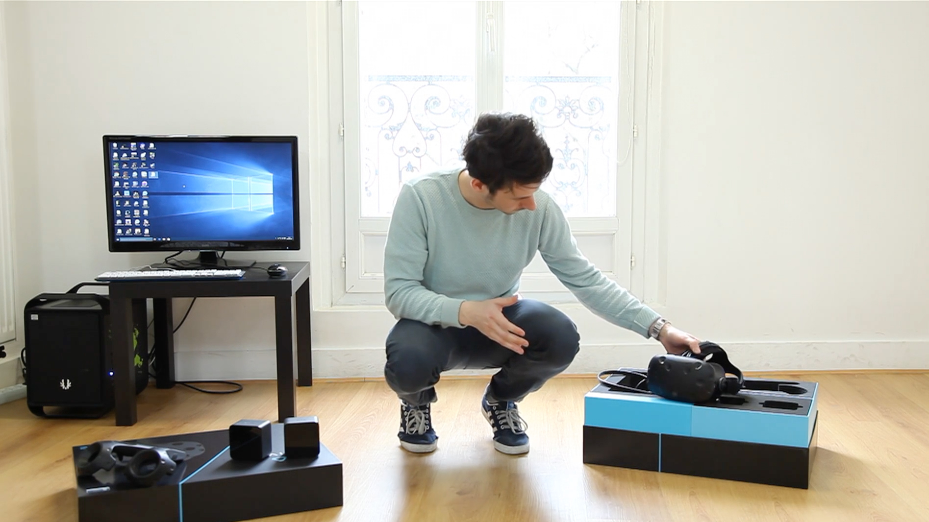 Htc vive le test vid o du casque de r alit virtuelle le for Vive le jardin 06