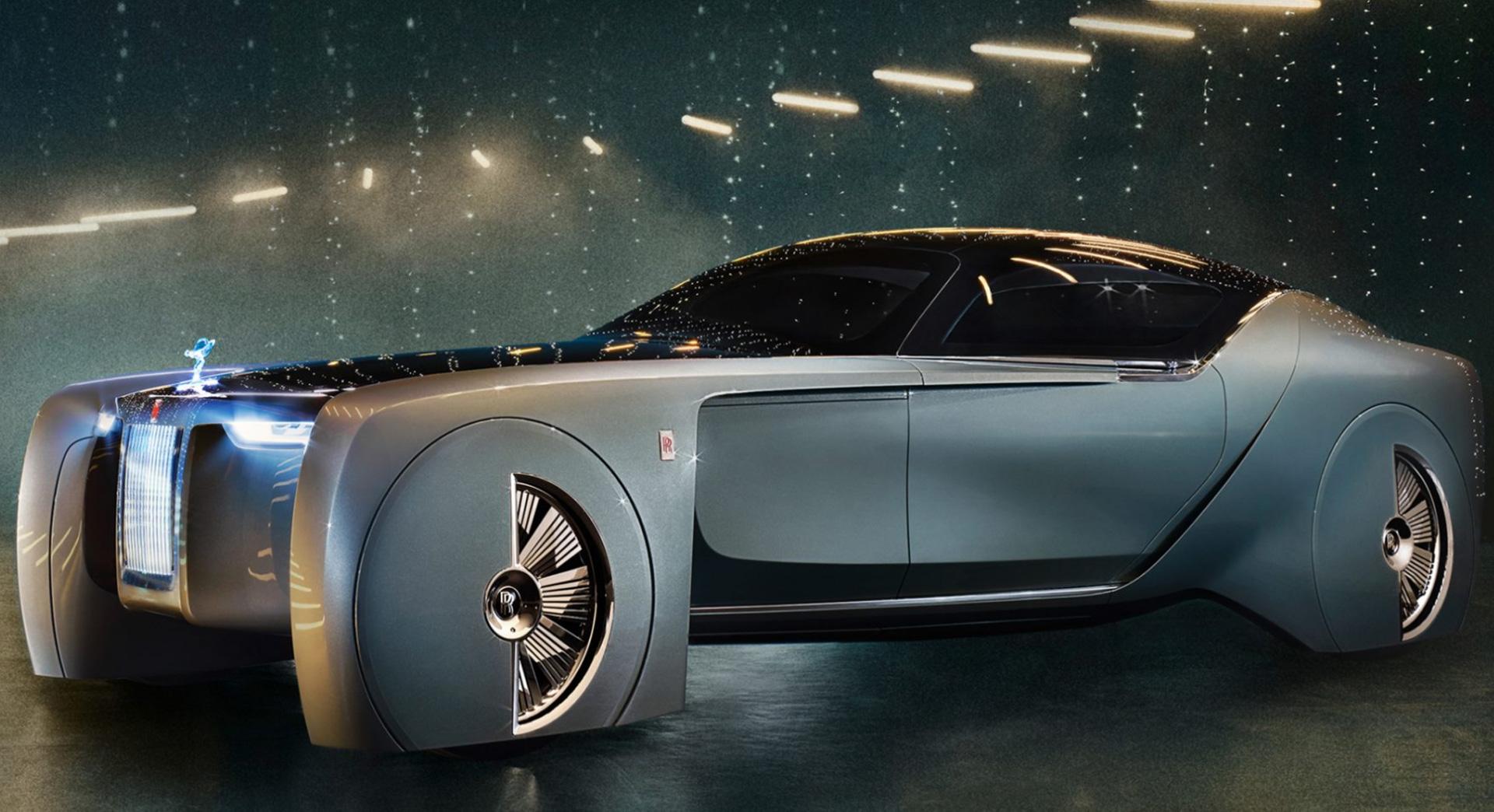 la voiture du futur imagin e par rolls royce est juste splendide tech numerama. Black Bedroom Furniture Sets. Home Design Ideas