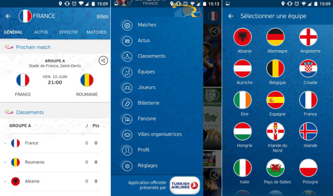 Screen 2 appli Euro 2016