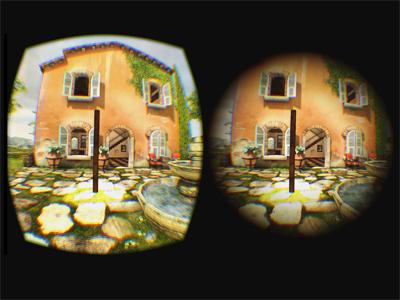 VR motion sickness