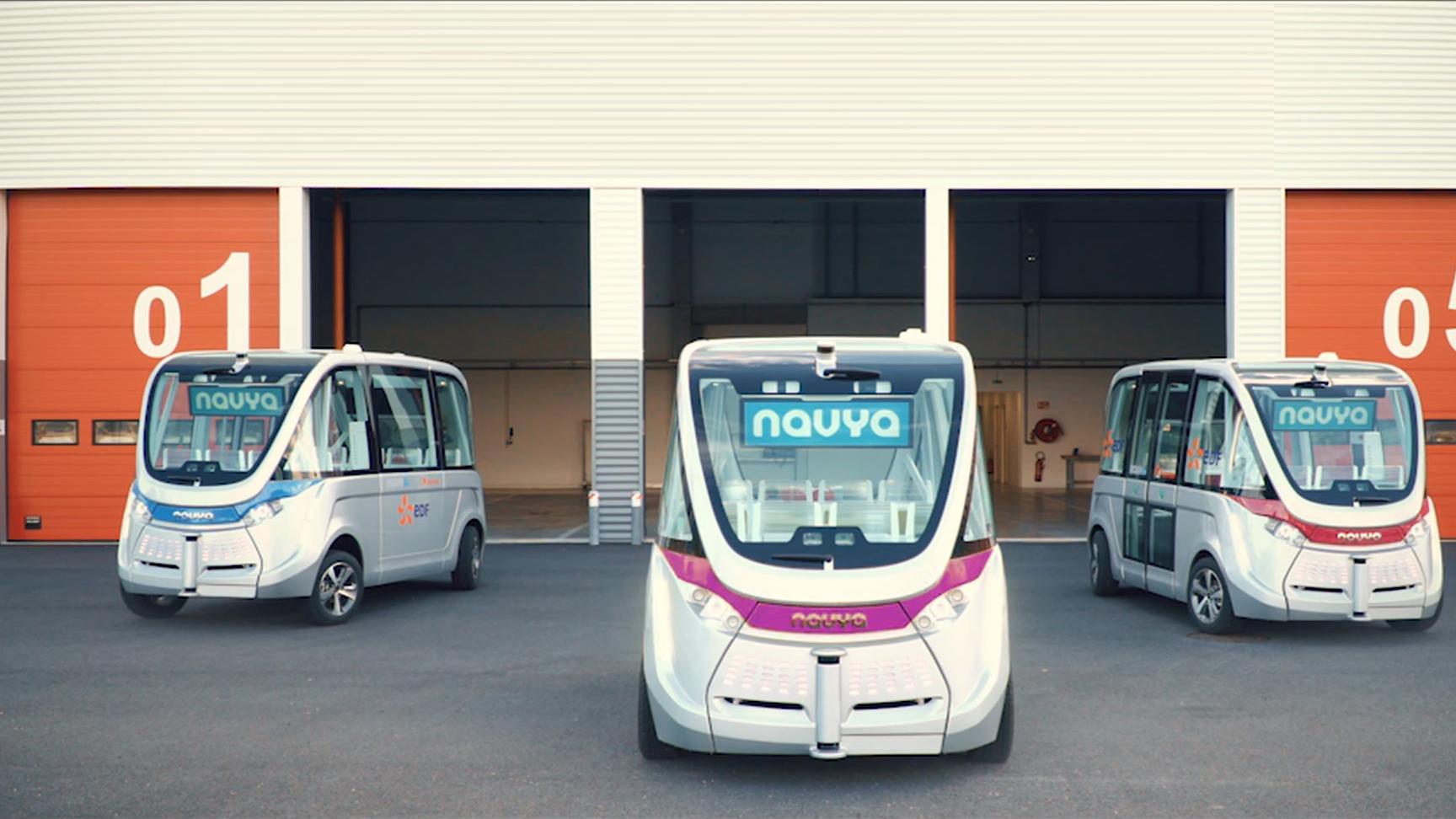 le bus sans chauffeur de navya circulera lyon d s le 3 septembre tech numerama. Black Bedroom Furniture Sets. Home Design Ideas