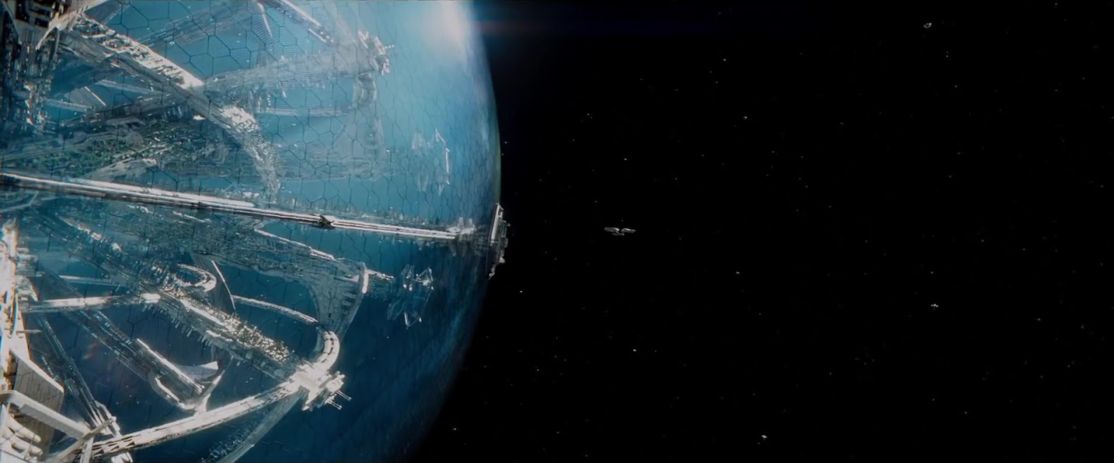 Star Trek Beyond Big Attack spot USS Enterprise at Starbase Yorktown
