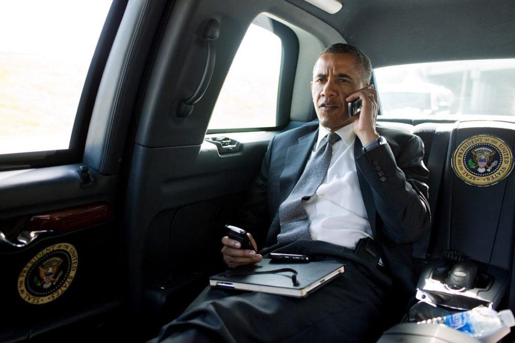 President Barack Obama Calls Aurora Mayor Steve Hogan