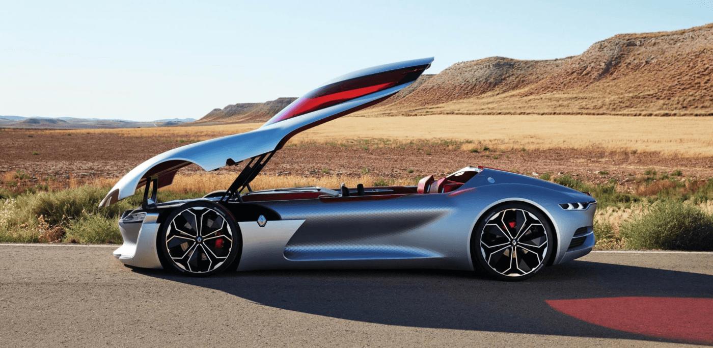 Renault Reve D Une Voiture De Luxe Electrique Et Autonome