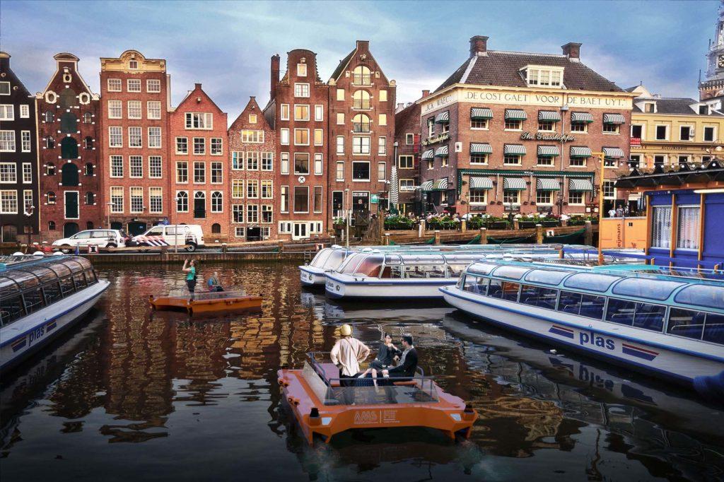 Robot bateau Amsterdam