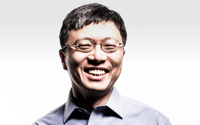 Harry Shum, vice-président de Microsoft en charge du Microsoft AI and Research Group