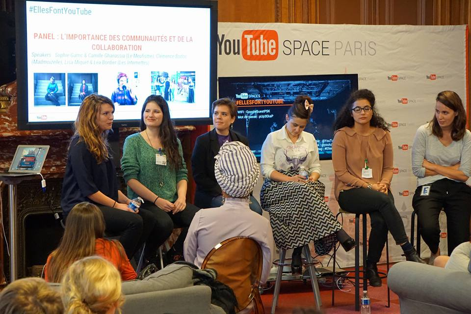 Les Internettes au YouTube Space