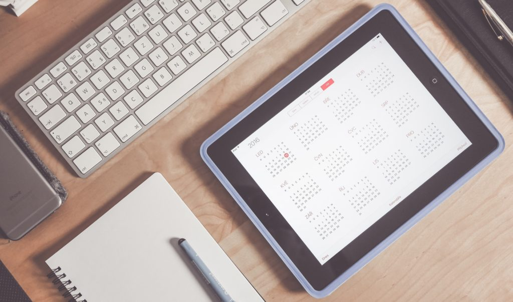 calendrier agenda date