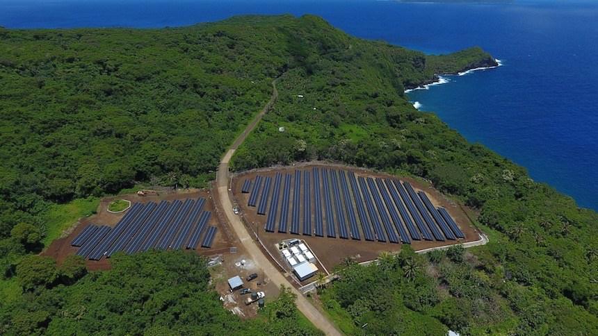 Ta'u : une île de 600 habitants alimentée en énergie solaire par Tesla