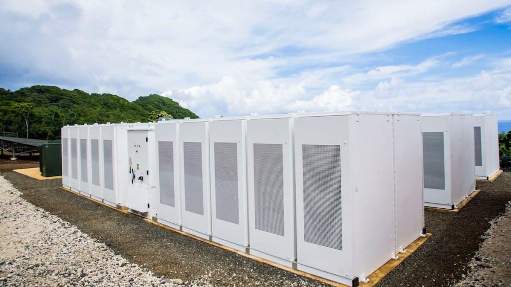 Tesla fournit toute l'énergie de l'île de Ta'ū