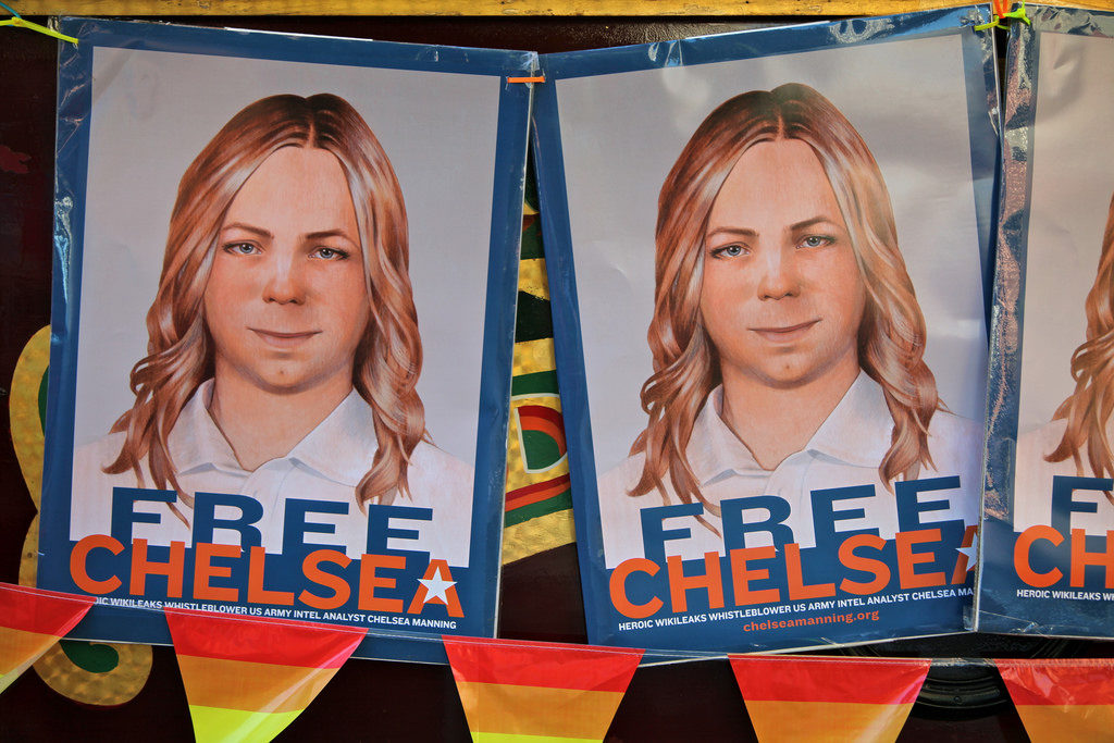 Chelsea Manning Free