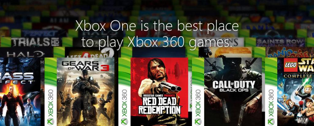 Xbox One rétrocompatibilité