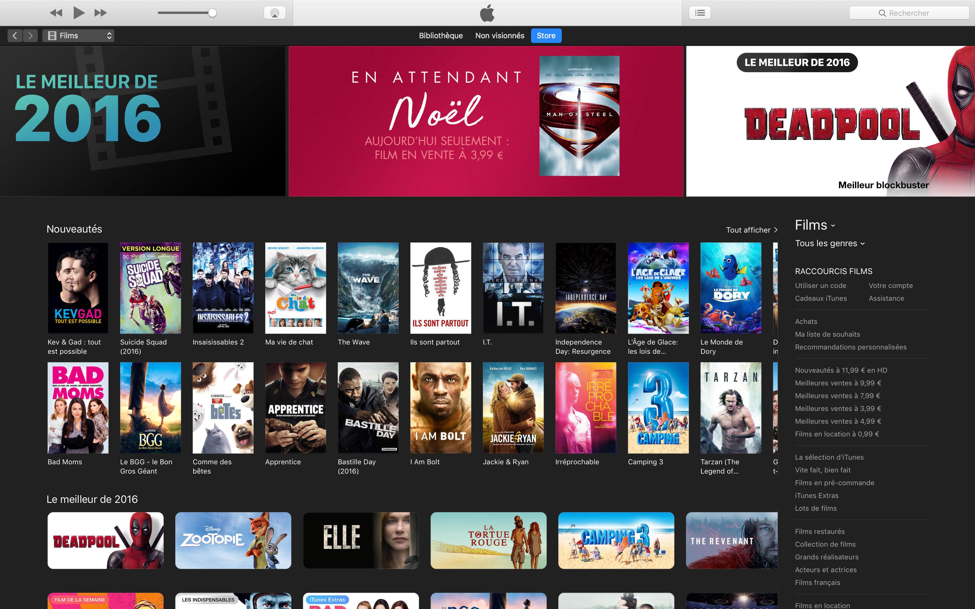 iTunes Store va disparaître de l'Apple TV 1 et des PC