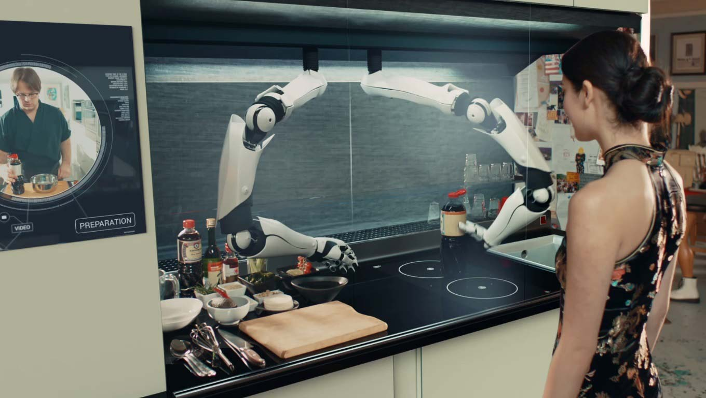 d couvrez moley le robot cuisinier qui vous remplace derri re les fourneaux tech numerama. Black Bedroom Furniture Sets. Home Design Ideas
