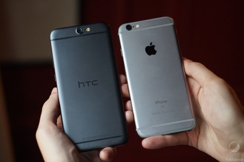 Le HTC One face à l'iPhone, un de ses héritiers