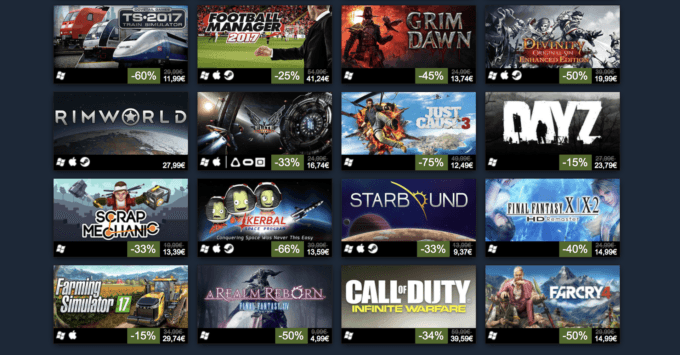 Top 100 2016 Steam
