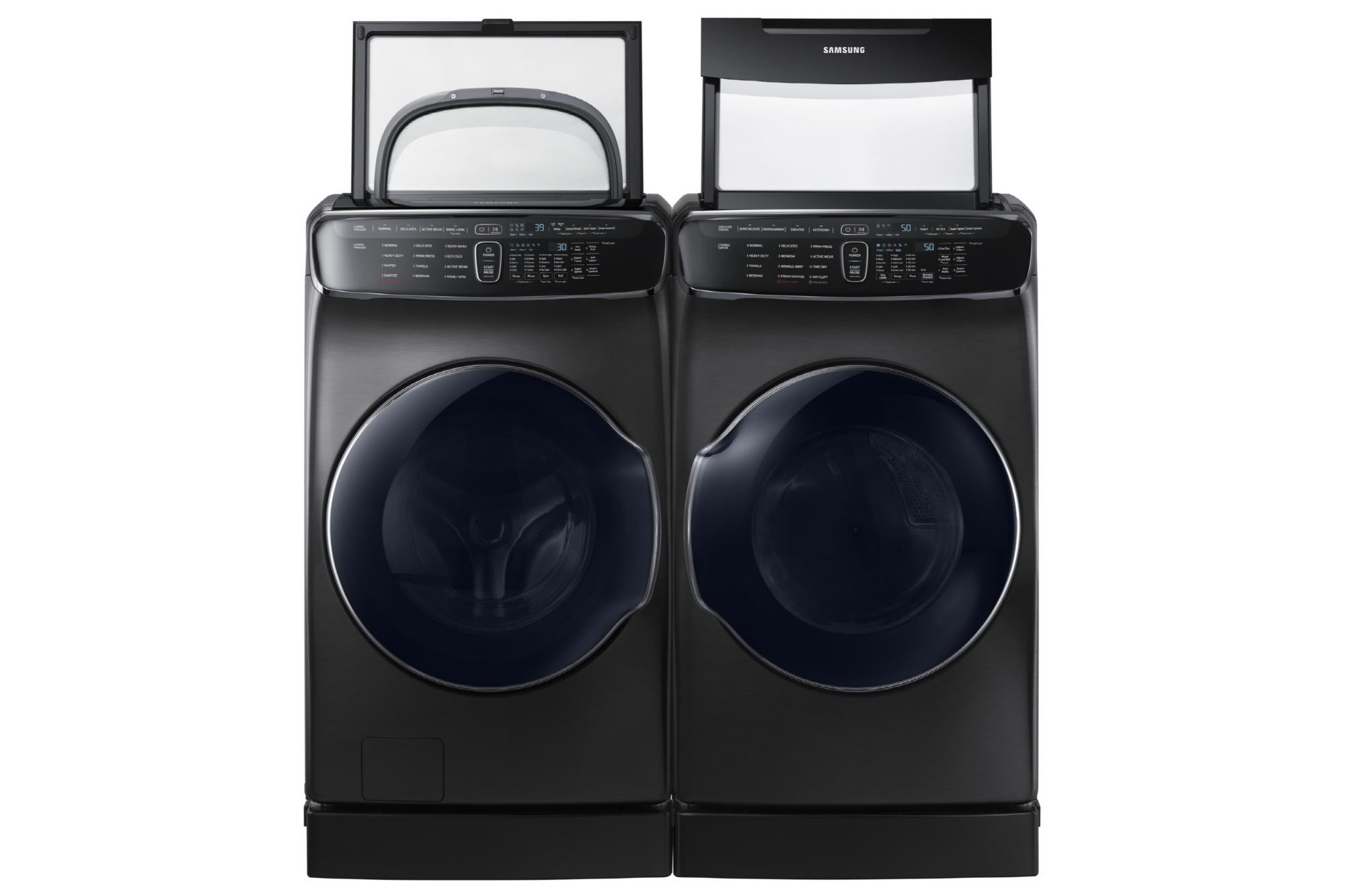 samsung veut que les technophiles s 39 int ressent ses lave linge tech numerama. Black Bedroom Furniture Sets. Home Design Ideas