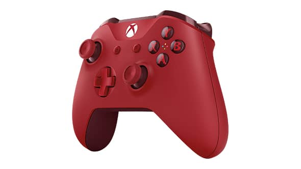 Manette Xbox One Red