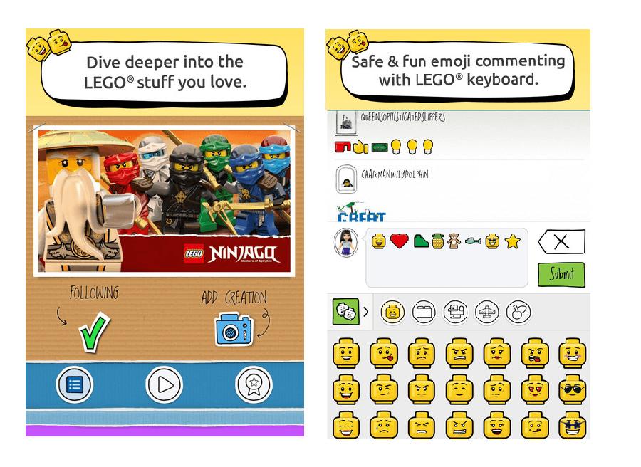 Lego Life : le réseau social des petites briques