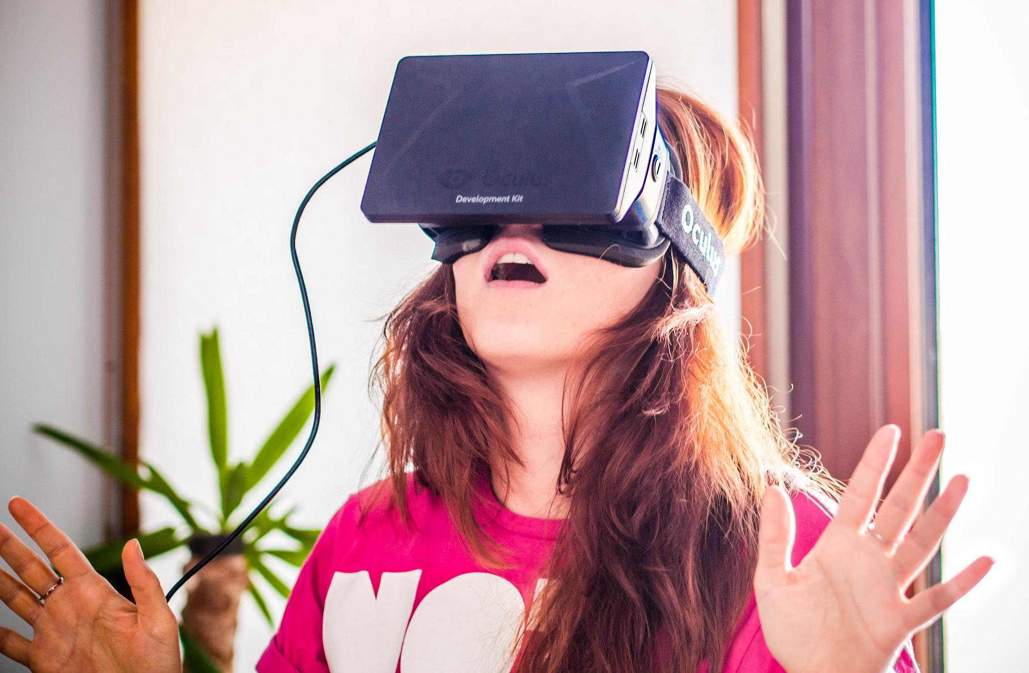 oculus vr réalité virtuelle