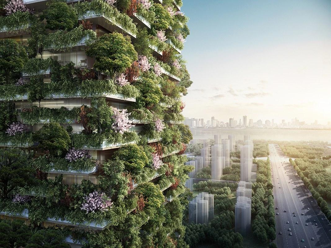 La Chine accueillera sa première forêt verticale anti-pollution en 2018 - Sciences