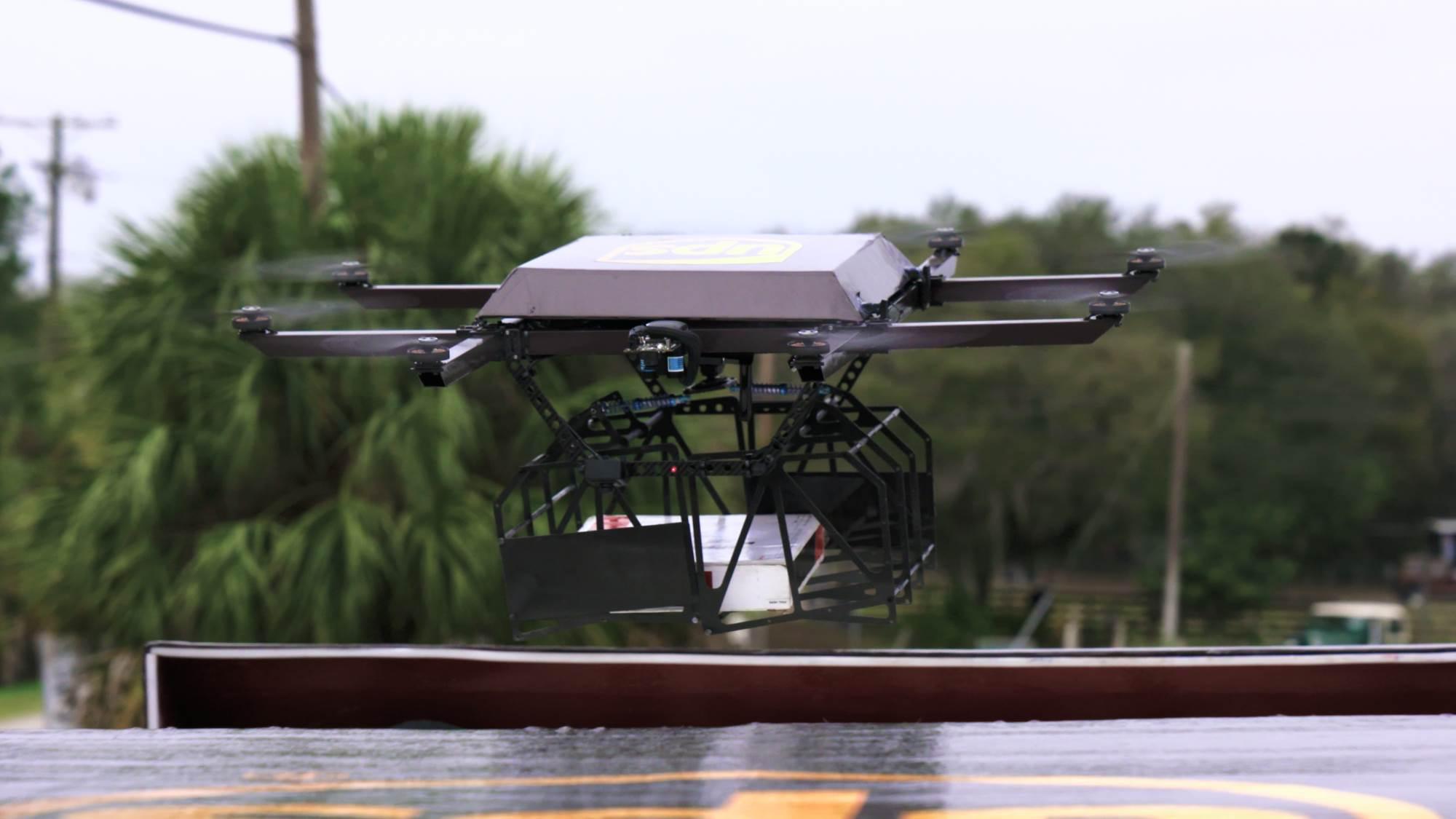 UPS met un peu plus de drones dans sa logistique : l'effet Amazon ?
