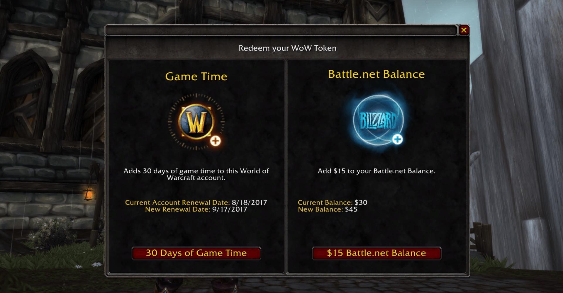 grande qualité Acheter Authentic prix abordable L'argent gagné dans World of Warcraft pourra être dépensé ...