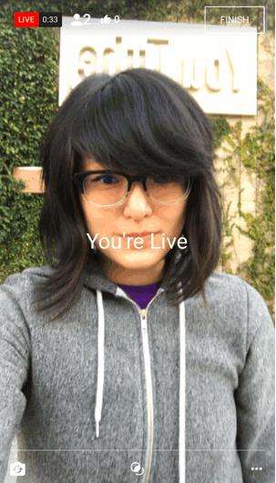Vous pouvez désormais faire des lives YouTube sur smartphone… si vous avez plus de 10 000 abonnés