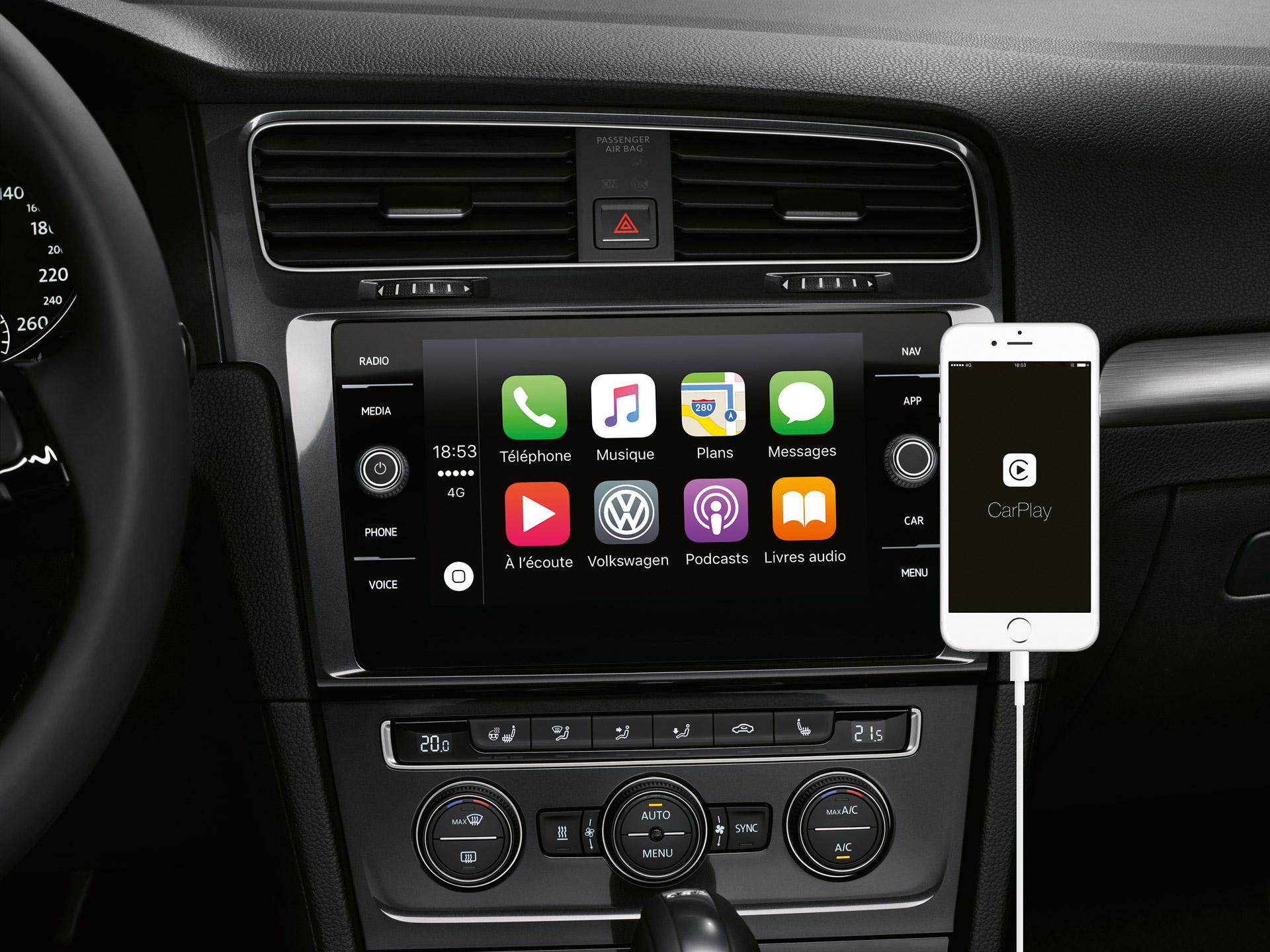 Branchement de voiture pour l'iPhone 4