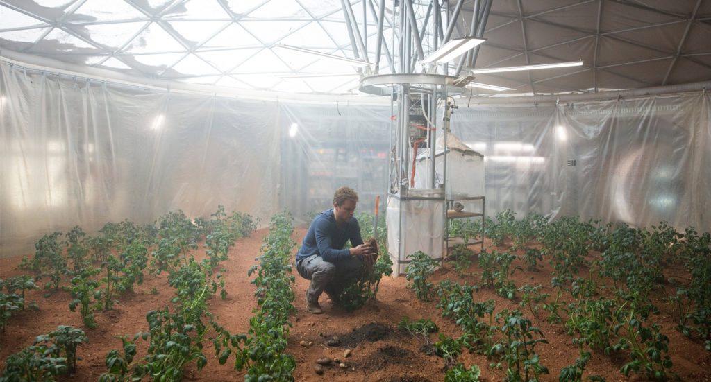 Seul sur Mars Matt Damon