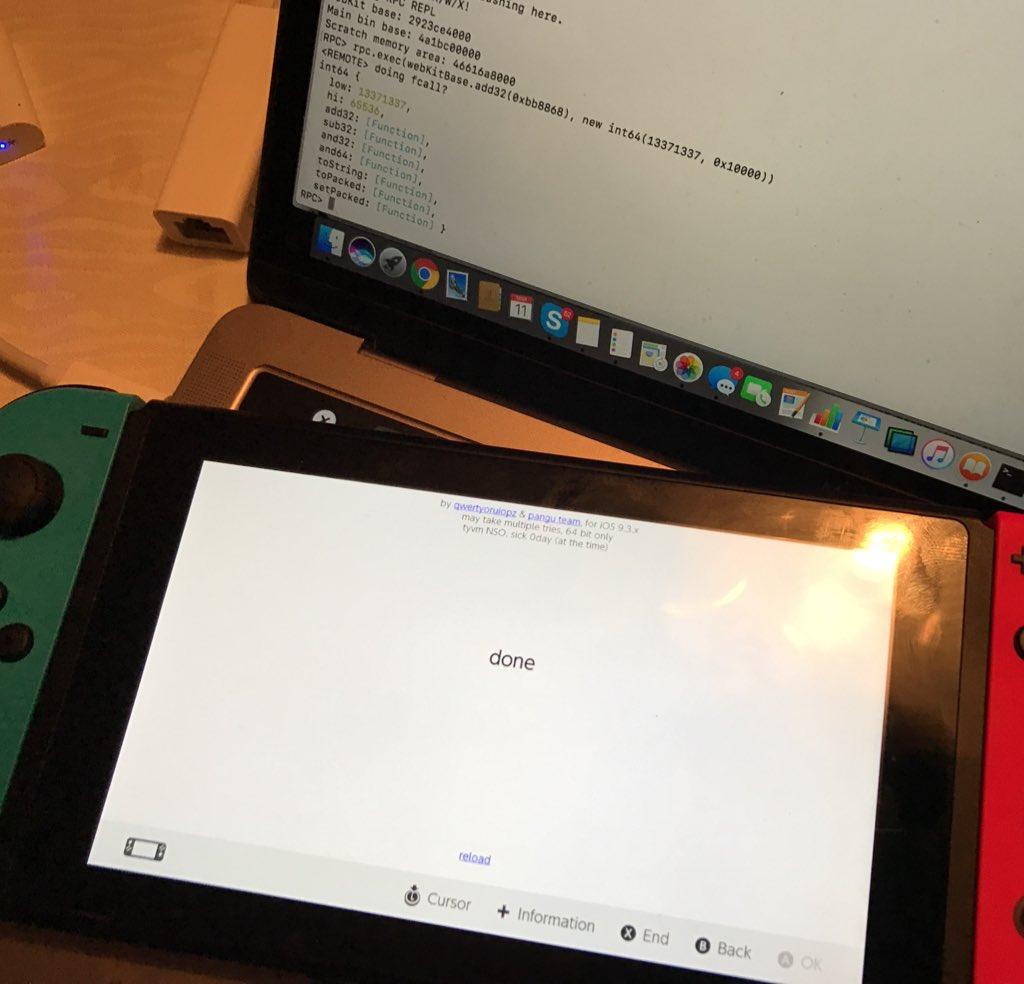 Déjà une faille dans le système — Switch