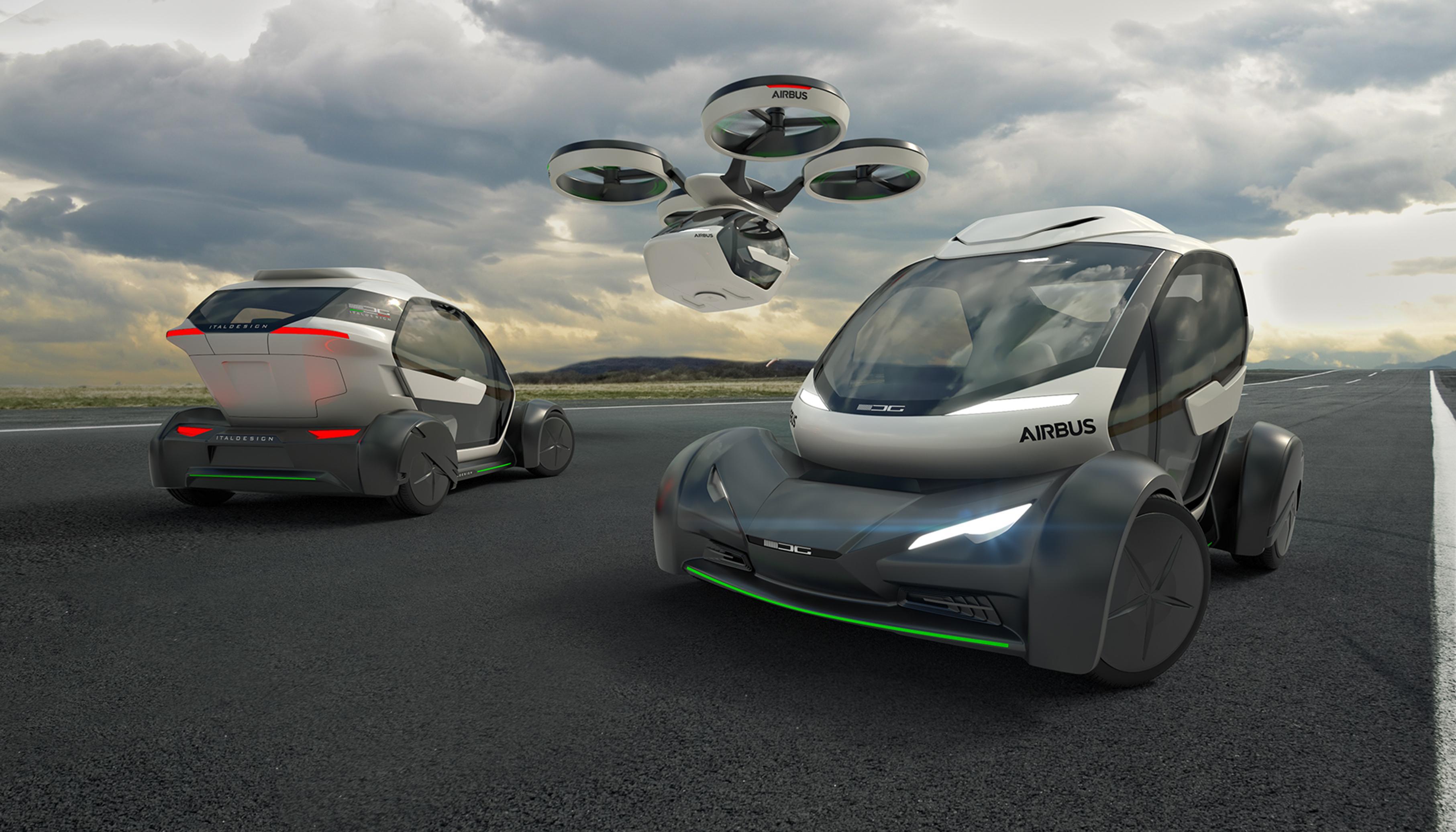 pour airbus la voiture du futur est aussi un drone moins que ce ne soit le contraire tech. Black Bedroom Furniture Sets. Home Design Ideas
