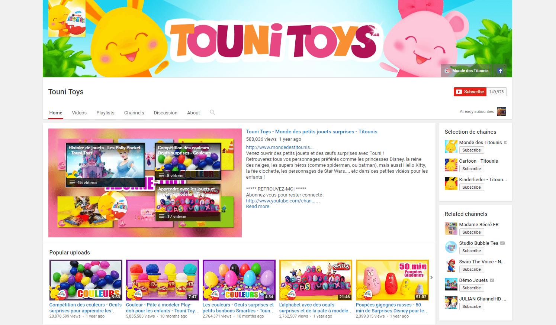 Sur Youtube Les Comptines Font Leur Come Back Pop Culture Numerama