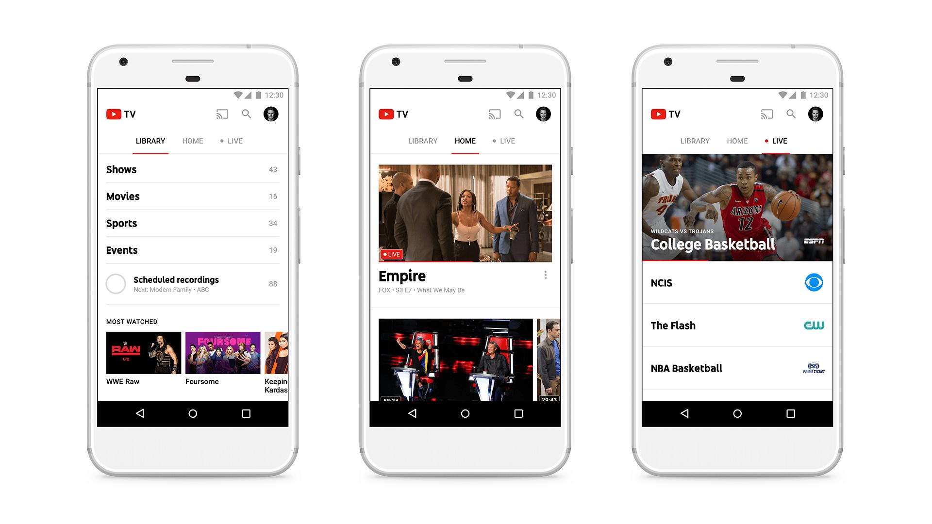 Youtube se lance dans le streaming payant de cha nes for Dans youtube