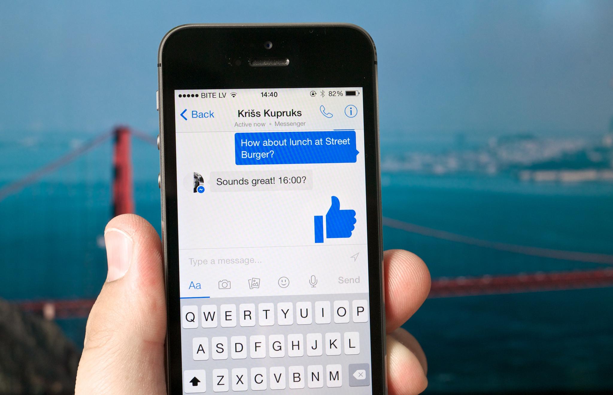Facebook Messenger veut résoudre le problème des paiements entre amis