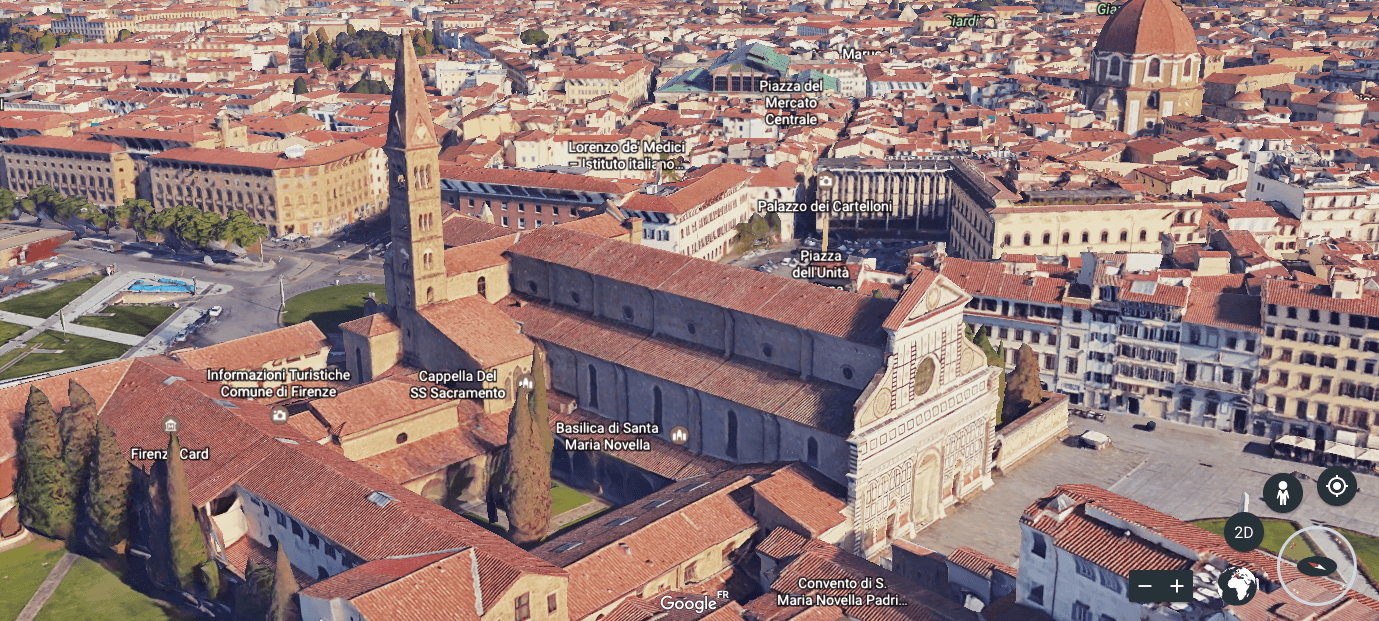florence google earth