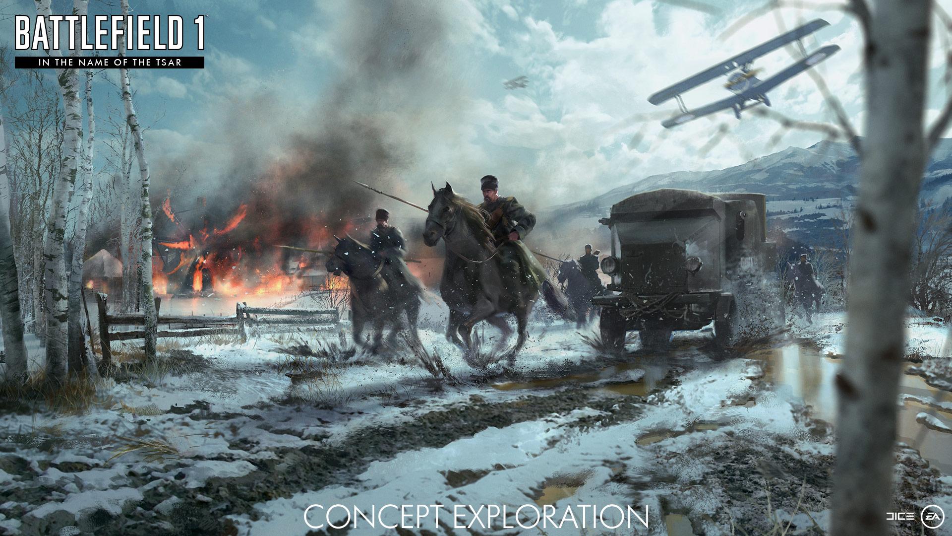 Battlefield 1 va se mettre aux mises jour mensuelles et - Battlefield v concept art wallpaper ...