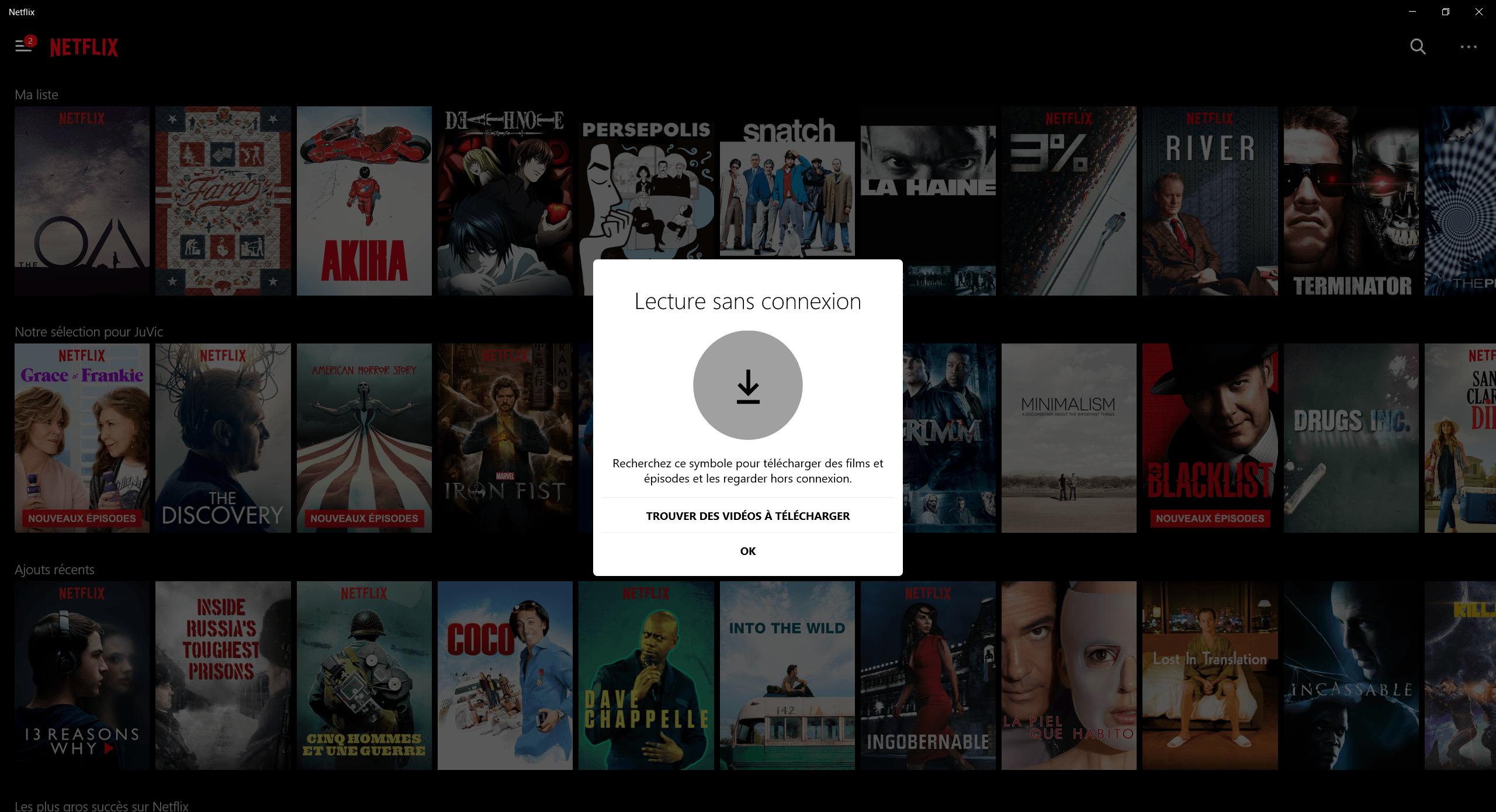 Netflix comment t l charger une s rie ou un film en mode - Telecharger table de mixage gratuit windows ...
